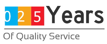 25 years of quality service